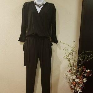 Michael Kors Black Pantsuit Sz 8